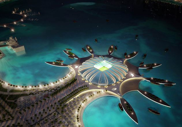 Proposed Qatar World Cup stadiums, fifa qatar, Doha Port Stadium