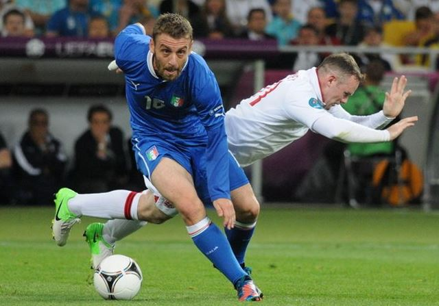 Top 10 highest paid soccer players in Serie A 2014 , daniele de rossi, italian superstar, midfielder, roma star
