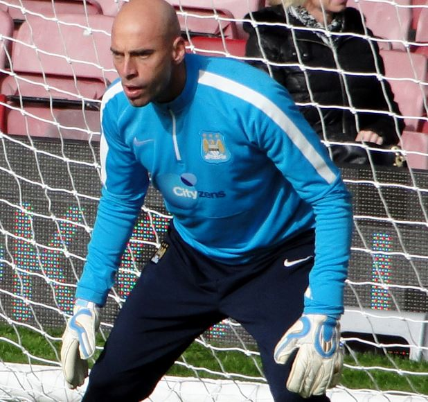 Top 10 Most Valuable Backup Goalkeepers in Soccer, Willy Caballero