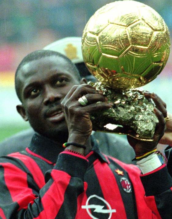 Top 5 Soccer Superstars who never played in a World Cup, george weah, greatest african player, all time great