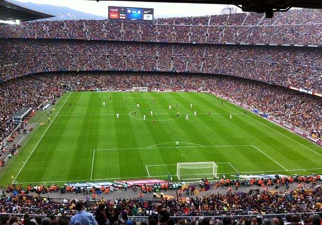 Top 10 Highest Earning Football Clubs per Match, barcelona, spanish richest club, champions