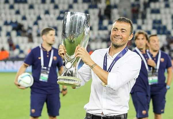 Luis Enrique, best earning soccer managers 2016
