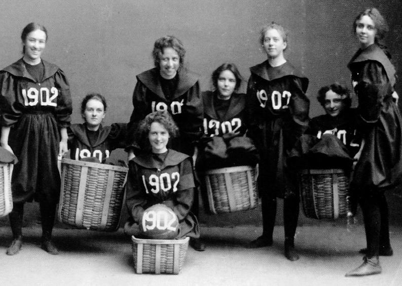 The History of Basketball Timeline in America, female participation in basketball