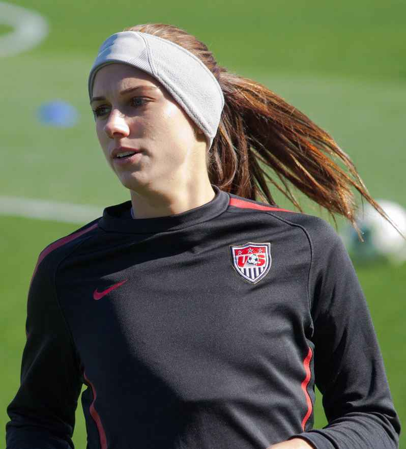 Top 10 Highest Paid Female Soccer Players 2015, Alex Morgan