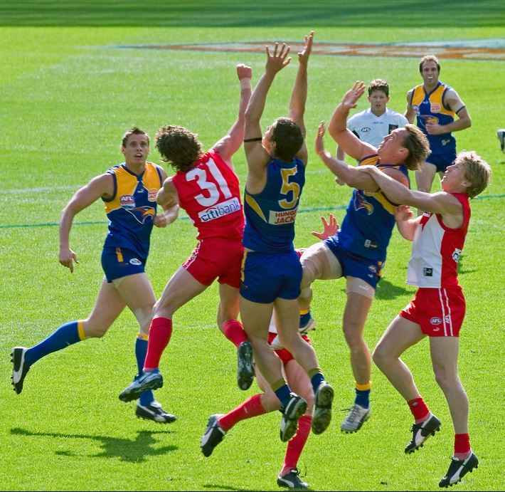 Australian Rules Football Vs Rugby