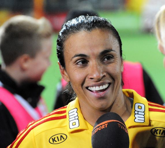 Top 10 Highest Paid Female Soccer Players 2015, Marta Vieira