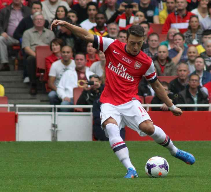 Top 10 Highest Paid Premier League Players in 2015, highest earning, Mesut Ozil