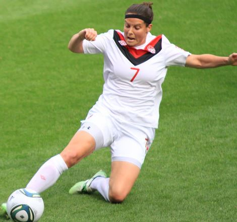 Top 10 Highest Paid Female Soccer Players 2015, Rhian Wilkinson