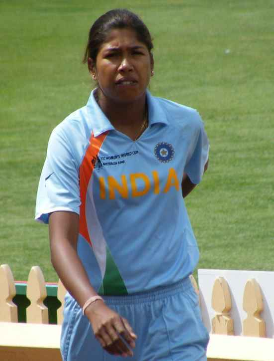 Top 10 best women cricketers of the world 2015, Jhulan Goswami