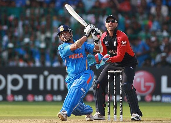 Top 10 Batsmen with Most Sixes in ODI Cricket, Sachin Tendulkar