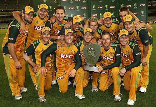 AUSTRALIA TO ENTER WORLD CUP ON TOP OF ICC RANKINGS, always favorite