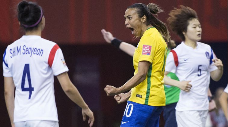 Top 10 FIFA Women's World Cup Records of All-time, Marta, Brazil
