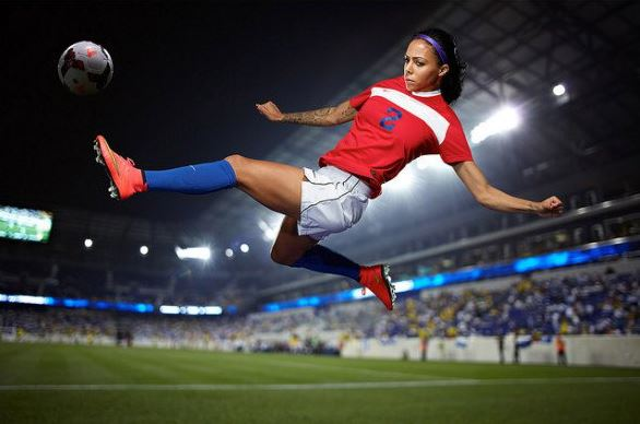 Top 10 Best Female Soccer Players of all time, Sydney Leroux