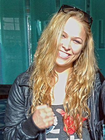 Top 10 Best Female Athletes in America, Ronda Rousey