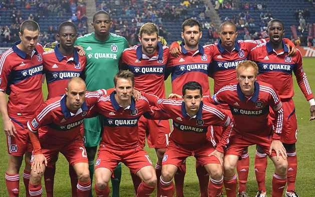 Top 10 Best MLS Soccer Teams in the world,chicago fire