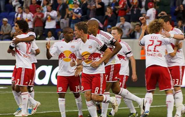 Top 10 Best MLS Soccer Teams in the world, New york red bulls, thiary henry