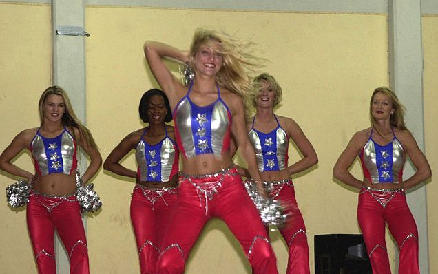 top 10 cheerleading teams , Buccaneers cheerleaders