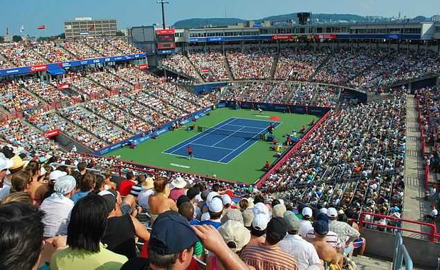 Top 10 Most Popular Sports in Canada,roger's cup