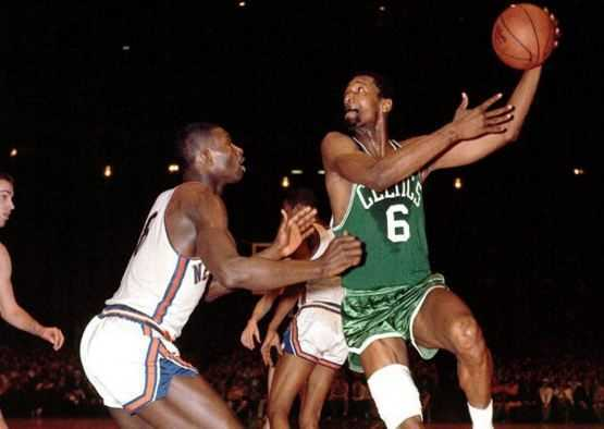 Bill Russell, basketball legends