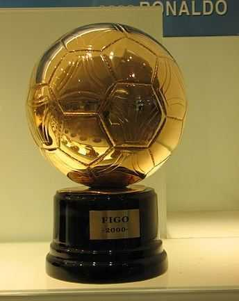 FIFA Ballon d'Or, Ballon d'or winners list