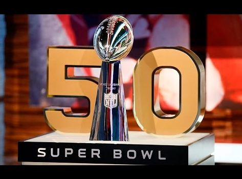 Super Bowl 50 trophy, super bowl