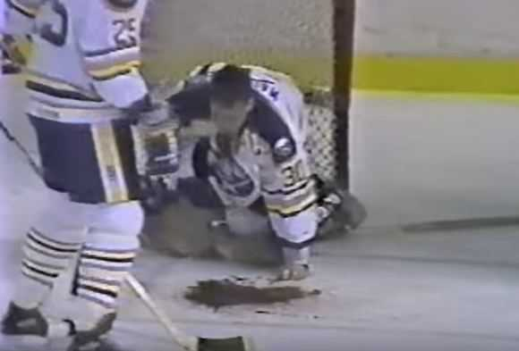 clint malarchuk injury, top ten worst sports injuries