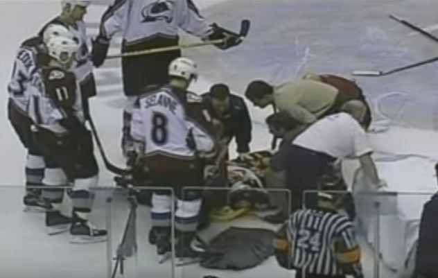 steve moore incident, bad sports injuries