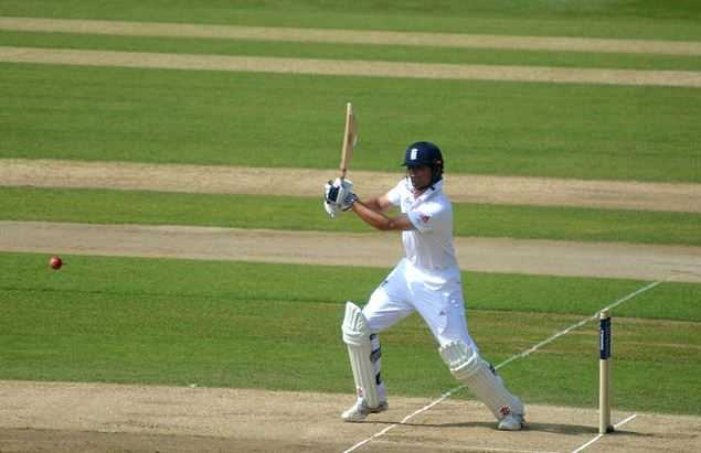 Cook Batting, England vs India
