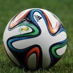 "FIFA World Cup 2014 official ball, making of ""Brazuca"""