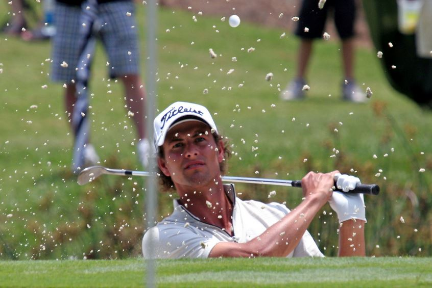 Crowne Plaza Invitational: Adam Scott becomes world No 1 at Colonial , adam scoot (golfer)