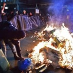 Brazil fired by anti-World Cup protests: Rio and Sao Paulo are burning