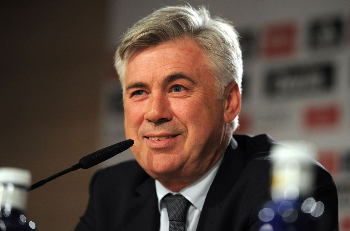 Real Madrid manager, Madrid coach, Carlo Ancelotti