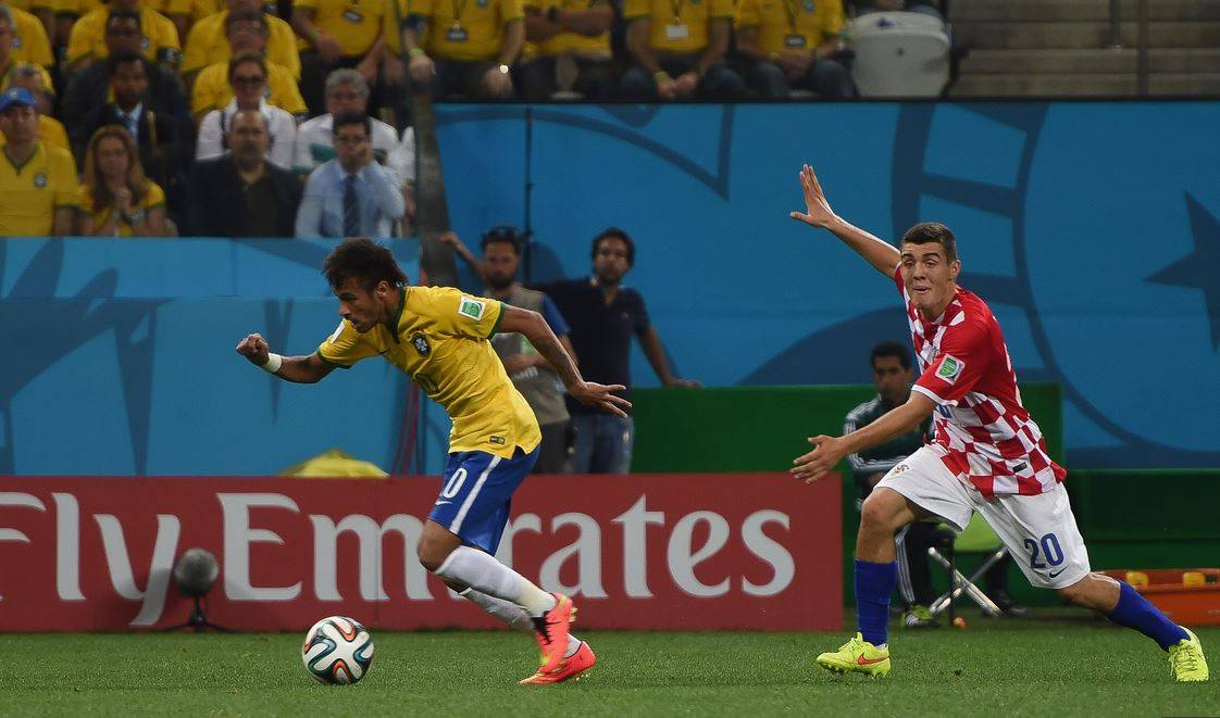 Brazil vs Croatia, world cup 2014