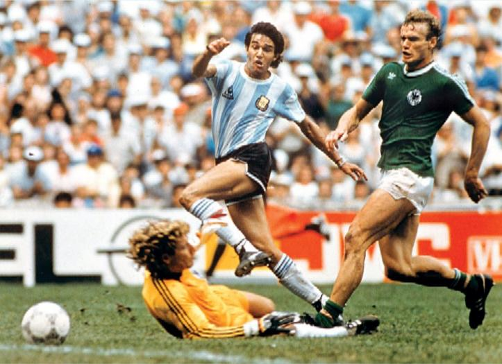 argentina's world cup win, argentina vs germany,1986 world cup final