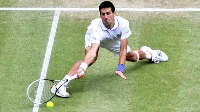 grass court, wimbledon, djokovic