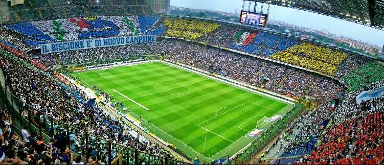 san siro stadium, ac milan home, top 10 best football stadiums,10 best football stadiums in the world, best football stadiums, the best football stadium in the world top 10