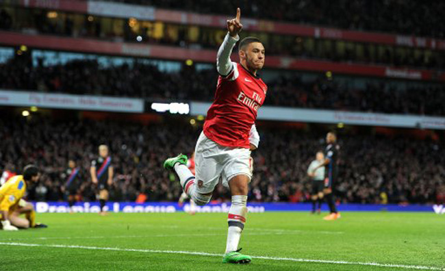 Alex Oxlade-Chamberlain, young footballers, young football players, top young footballers, young football stars