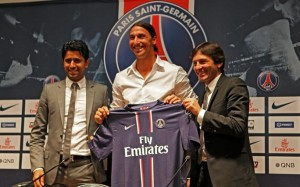 Zlatan, Ibrahimovic, PSG, highest paid soccer player, 2014, highest paid soccer players