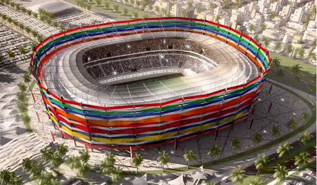 Proposed Qatar World Cup stadiums, Al-Gharafa Stadium , world cup venues