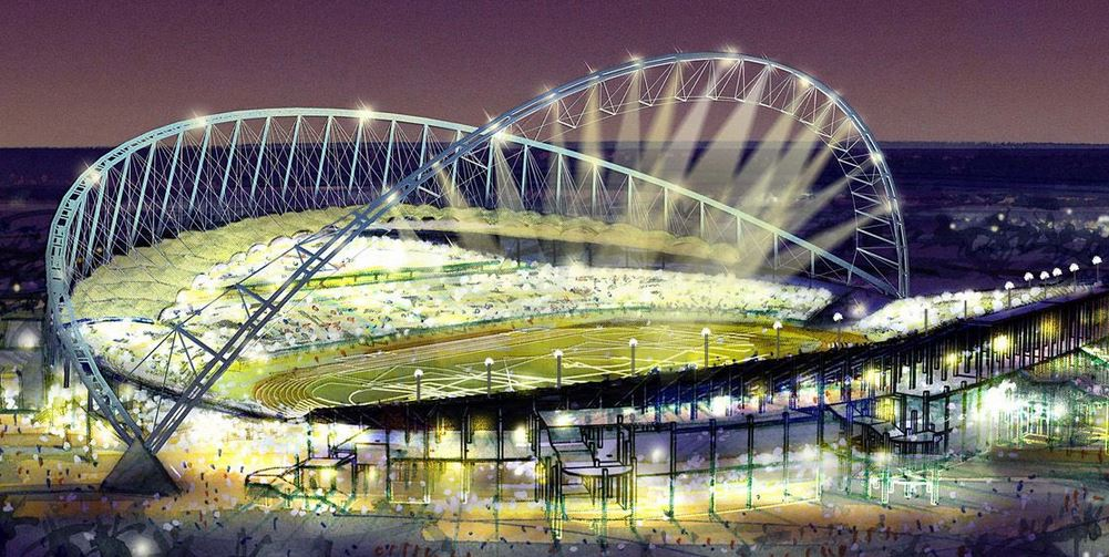 Proposed Qatar World Cup stadiums, Khalifa International Stadium , fifa qatar, world cup venues