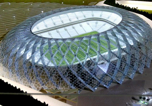 Proposed Qatar World Cup stadiums, Al-Wakrah Stadium , world cup venues