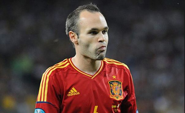 Top 10 highest paid footballers in La Liga 2014, andres iniesta, barcelona midfielder, spanish international