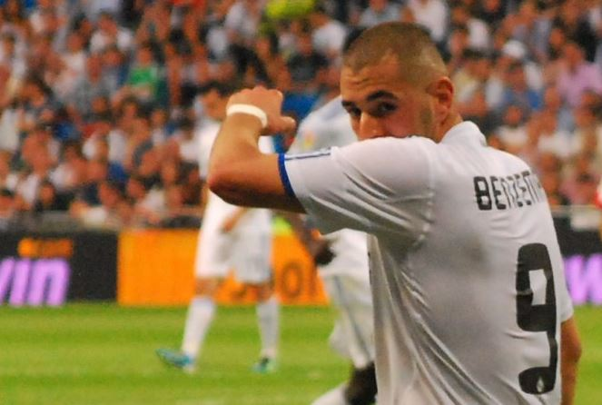 Top 10 highest paid footballers in La Liga 2014, Karim Benzema, Madrid striker, french international