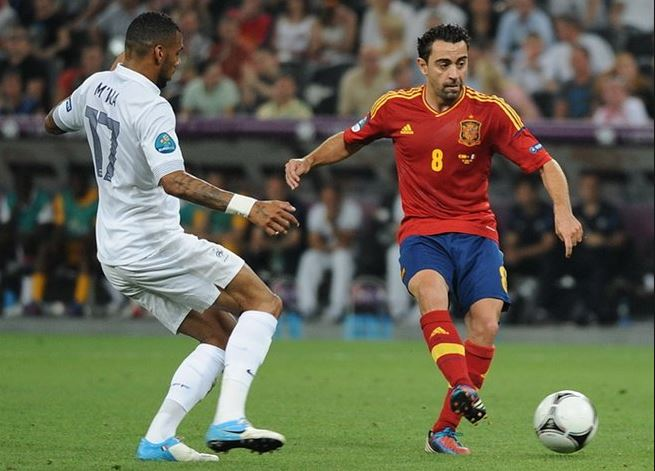 Top 10 highest paid footballers in La Liga 2014, Xavi Hernandez, Barca Star