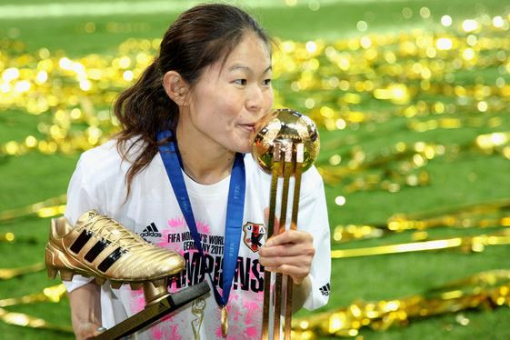 Top 10 Famous Female Soccer Players of All Time, women soccer, female footballer, best female soccer player, Homare Sawa