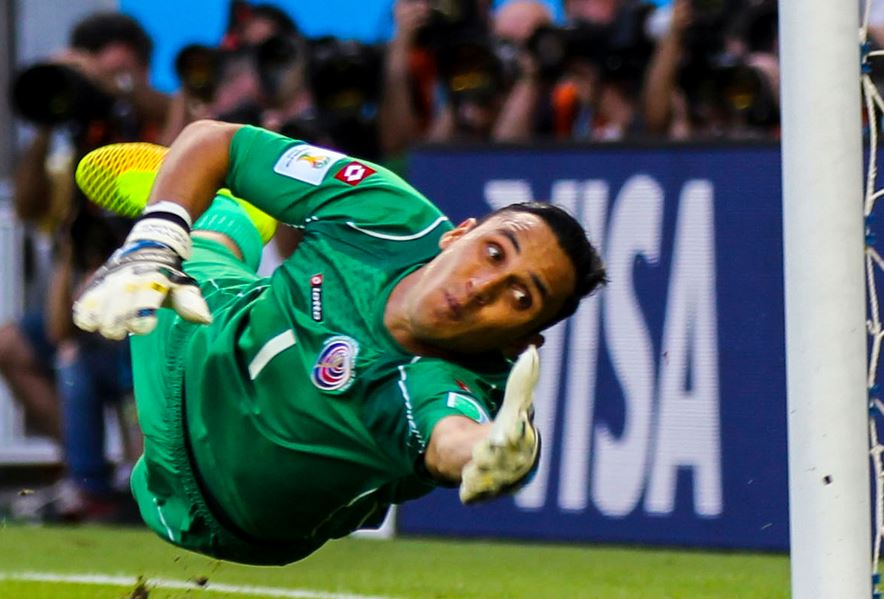 Top 10 Most Valuable Backup Goalkeepers in Soccer, Keylor Navas