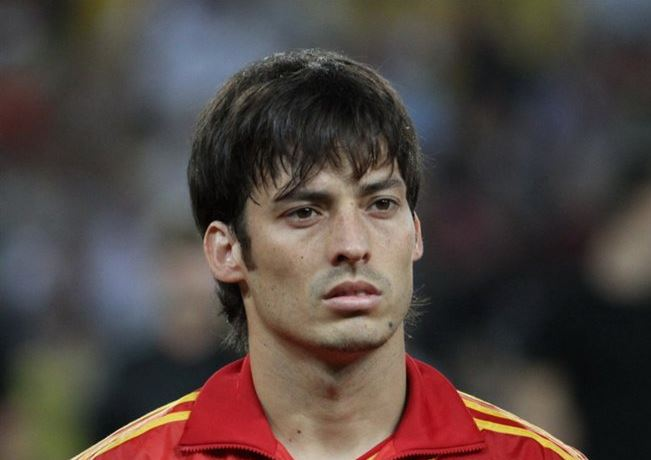 Top five highest paid Midfielders in Barclays Premier League , david silva, spaniard midfielder, mancity mid