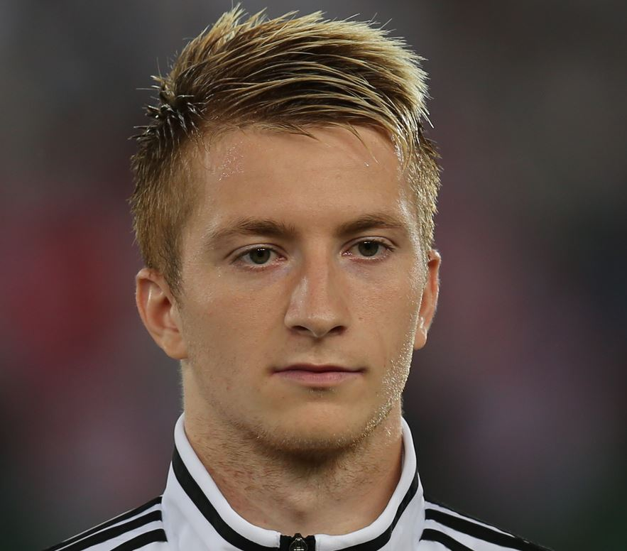 Top 10 highest paid soccer players in German Bundesliga , marco reus, german midfielder, richest soccer player