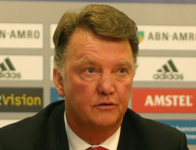 The 10 Highest Paid Football Managers of 2014-2015, Louis van Gaal, manchester united soccer coach