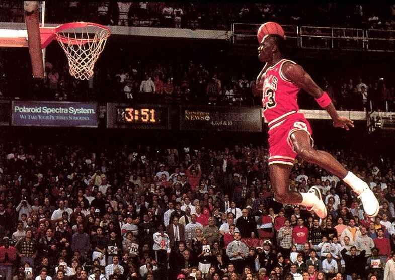 Top 10 Most Famous Basketball Players, Michael Jordan